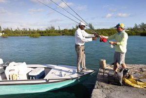 Loading Fly Tackle at Big Charlies [photo: Ian Davis/YellowDog Flyfishing]