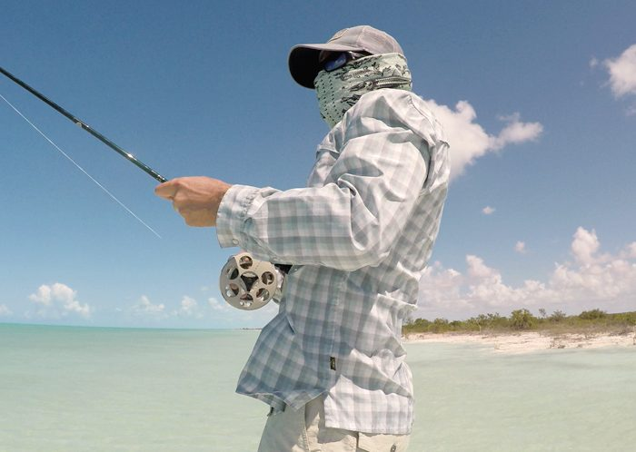 Fighting Bonefish, Andros Bahamas [photo: Joel Jefferson, Fish Bones Guided Fly Fishing]